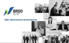 Презентація перших результатів роботи BRDO